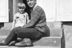 Avec sa fille Christine
