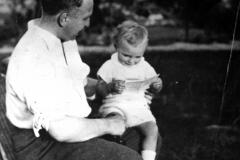 Avec son fils Blaise
