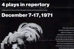 The Julliard Acting Company - 1971