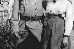 Michel et sa soeur Suzanne